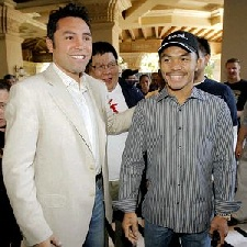 Pacquiao ready for Dela Hoya. Photo from boxingconfidentail.com